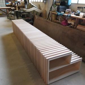 Alignement des blocs en atelier